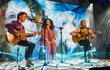 Nando Reis, Gilberto Gil e Gal Costa cantam juntos no Fantástico